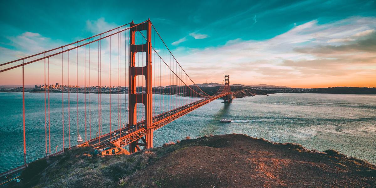 Die Golden Gate Brdige