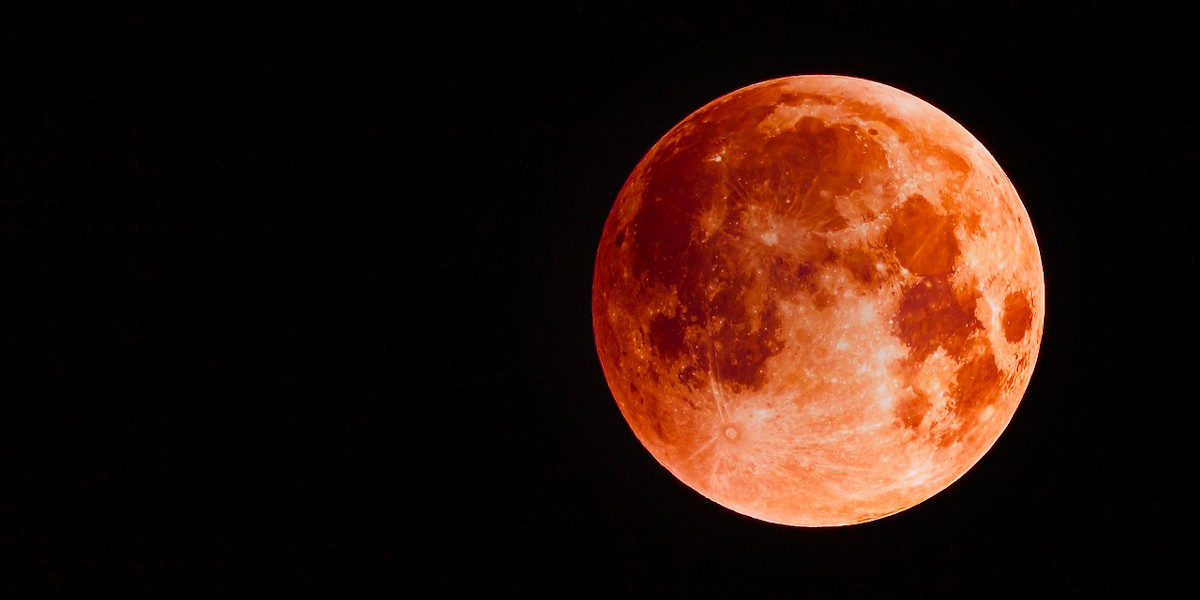 Die totale Mondfinsternis – der Blutmond