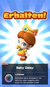 Baby Daisy in Mario Kart