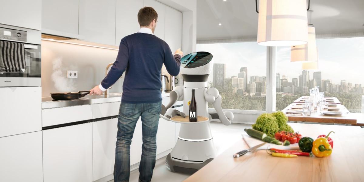 Serviceroboter Care-o-bot 4